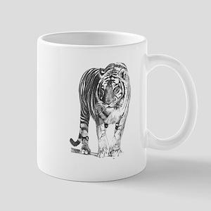 Bengal Tiger Sketch Mugs