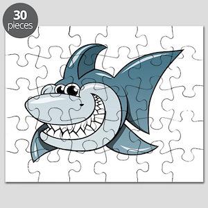 Cartoon Shark Puzzle