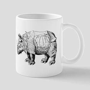 Rhino Sketch Mugs