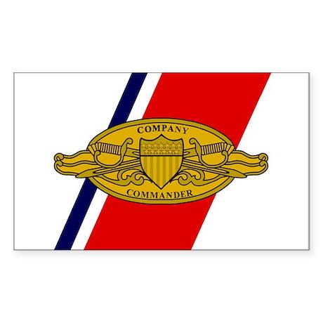 Company Commander<BR> Sticker