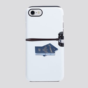 GavelAndPassports071611 iPhone 7 Tough Case