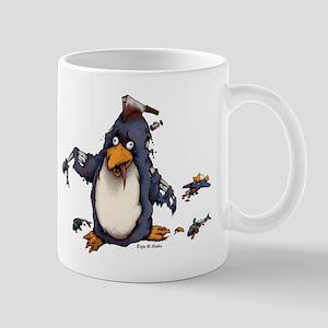 Zombie Penguin Mugs