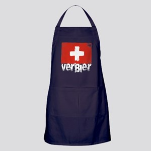 Verbier Grunge Flag Apron (dark)