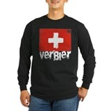 Verbier Long Sleeve Dark T-Shirts