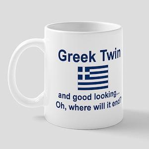 Greek Twin-Good Looking Mug