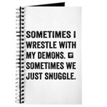 Wrestle With My Demons Journal