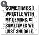 Wrestle With My Demons Puzzle