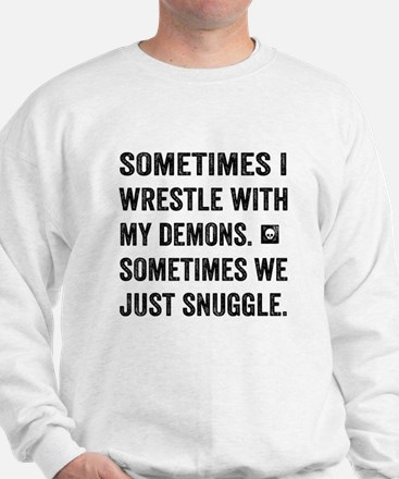 Wrestle With My Demons Sweater