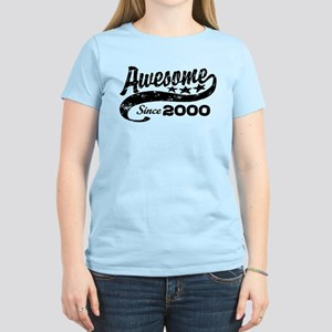 Awesome Since 2000 Women's Light T-Shirt
