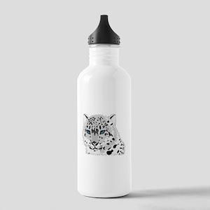 Snow Leopard Sports Water Bottle