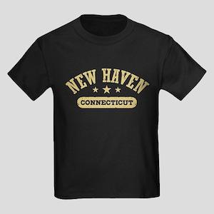 New Haven Connecticut Kids Dark T-Shirt
