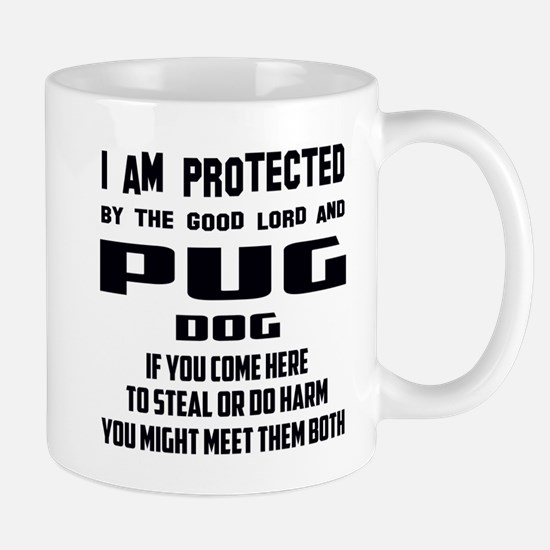 I am protected by the good lord Mug