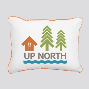 Up North Rectangular Canvas Pillow