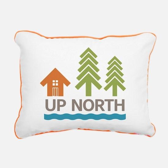 Up North Rectangular Canvas Pillow