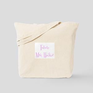 Future Mrs. Hecker Tote Bag