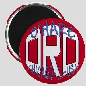 O'Hare Chicago USA Magnet