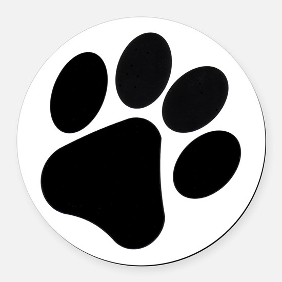 Pawprint Car Magnet