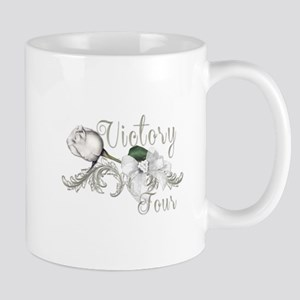 Victory Tour White Rose Catching Fire Mugs