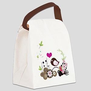 Springtime Canvas Lunch Bag