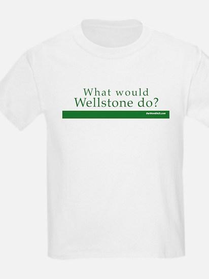 Kids T-Shirt: Wellstone what