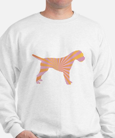 Border Terrier Rays Sweatshirt