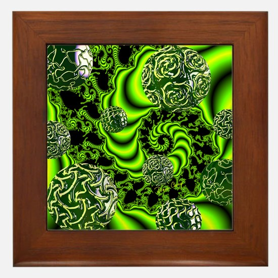 Irish Whirl Framed Tile