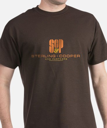 Sc&p Mad Men Logo T-Shirt