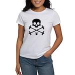 Skull and Cross Fitness Women's T-Shirt