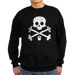 Skull and Cross Fitness Sweatshirt (dark)