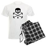 Skull and Cross Fitness Men's Light Pajamas
