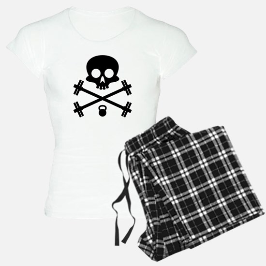 Skull and Cross Fitness Pajamas