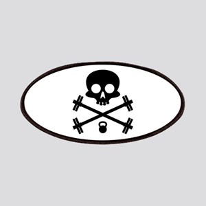 Skull and Cross Fitness Patches