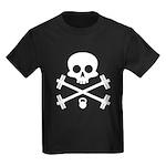 Skull and Cross Fitness Kids Dark T-Shirt