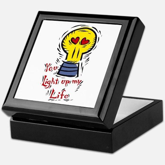 You light up my life Keepsake Box