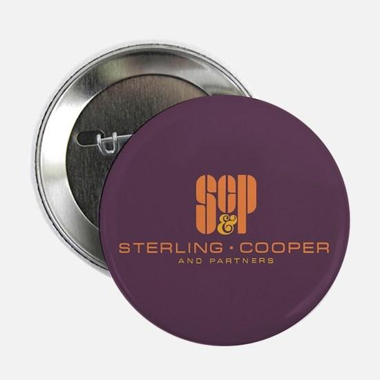 "SC&P Mad Men Logo 2.25"" Button"