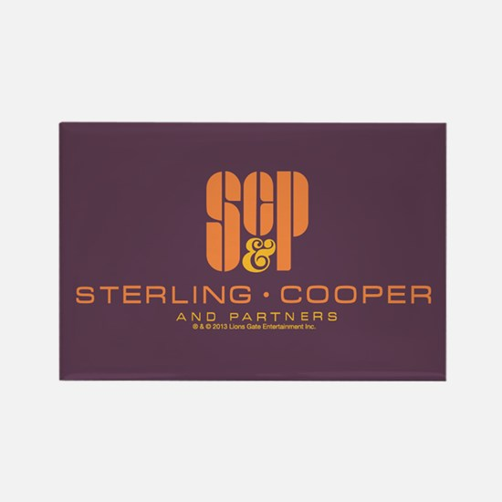 SC&P Mad Men Logo Rectangle Magnet