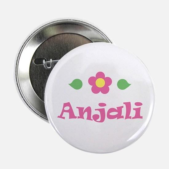 "Pink Daisy - ""Anjali"" Button"