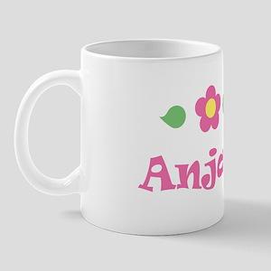 "Pink Daisy - ""Anjali"" Mug"