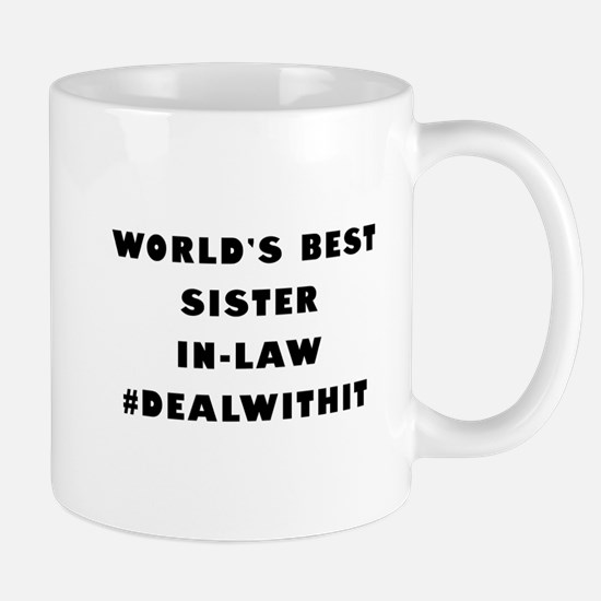 World's Best Sister-In-Law (Hashtag) Mug