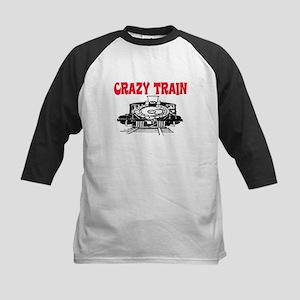 CRAZY TRAIN Kids Baseball Jersey