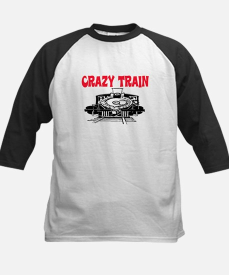 CRAZY TRAIN Kids Baseball Jersey