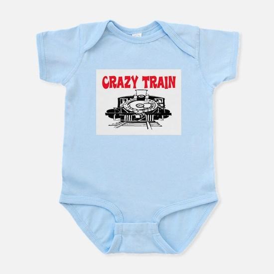 CRAZY TRAIN Infant Bodysuit
