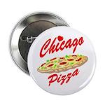 Love Chicago Pizza Button