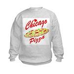 Love Chicago Pizza Kids Sweatshirt