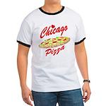Love Chicago Pizza Ringer T