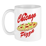 Love Chicago Pizza Mug
