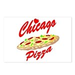 Love Chicago Pizza Postcards (Package of 8)