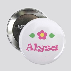 "Pink Daisy - ""Alysa"" Button"