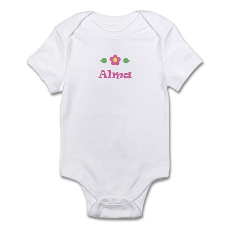 "Pink Daisy - ""Alma"" Infant Bodysuit"