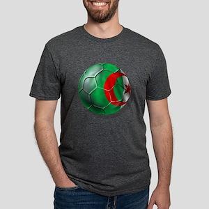 Algerian Soccer Mens Tri-blend T-Shirt